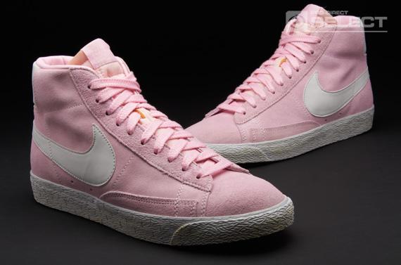 pink blazers nike
