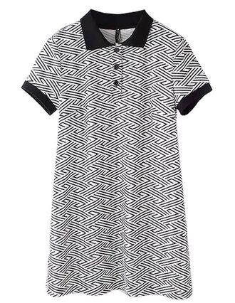 dress brenda shop polo shirt shirt dress tunic dress geometric office outfits