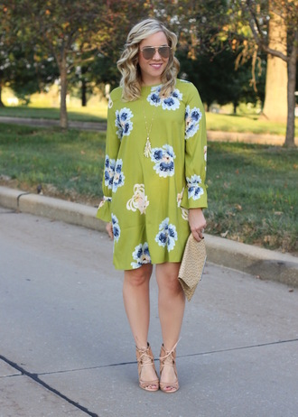 stylin in st. louis blogger dress sunglasses shoes jewels bag