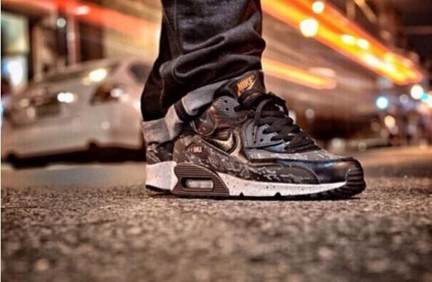 shoes nike air max 90 camo black nike air max 90 leoaprd nike air max 90 black