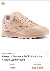 shoes,tan,nude,sneakers,Reebok