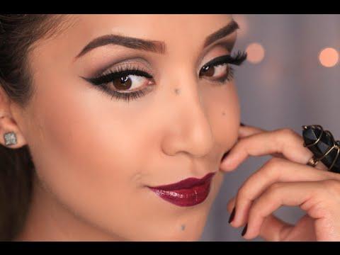 Full Glam Fall Makeup Tutorial