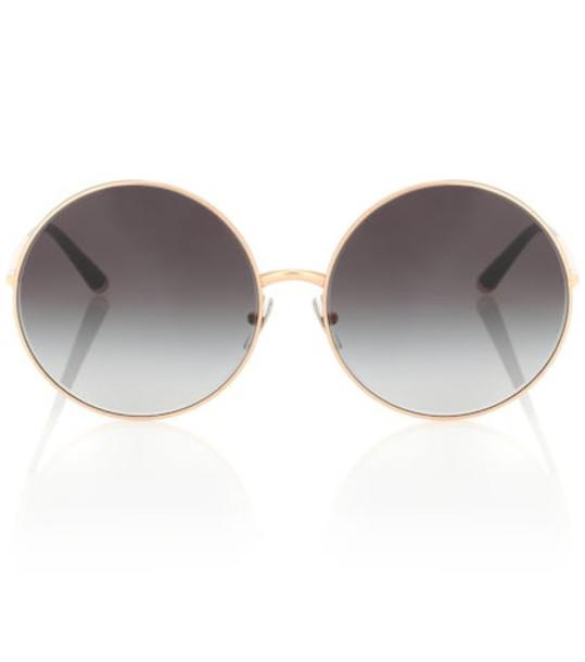 Dolce & Gabbana Round sunglasses in grey