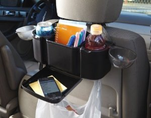 Amazon Com Zone Tech Style Auto Back Seat Organizer With Tray For