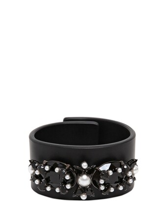 jewels leather black