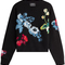 Anthony vaccarello - wool-cashmere embroidered pullover