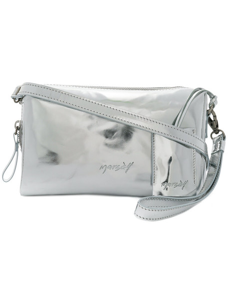 Marsèll women bag crossbody bag leather grey metallic