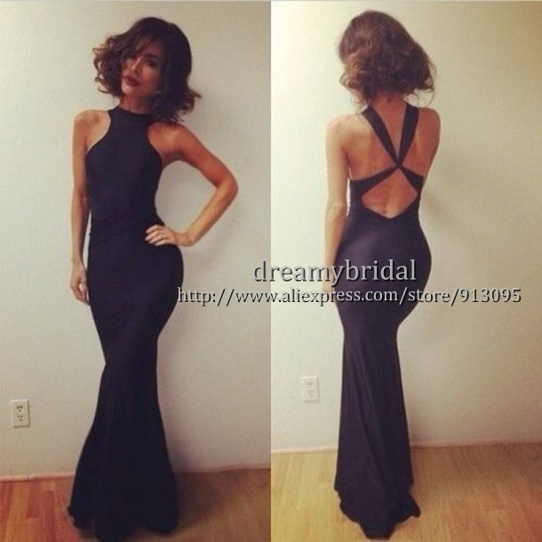 Aliexpress.com : Buy 2014 New Fashion Mermaid Sexy Criss Cross Woman Summer Dress Under $ 100 Backless Gown long Prom dresses vestidos de fiesta from Reliable dress skeleton suppliers on Suzhou dreamybridal Co.,LTD