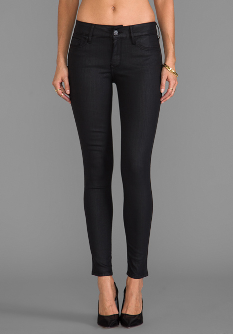 BLACK ORCHID Coated Skinny in Equinox - Black Orchid