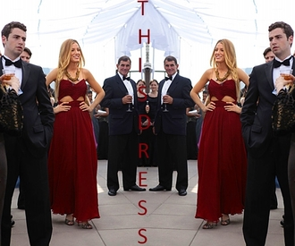 dress blake lively gossip girl red dress long prom dress team blake gossip girl fashion