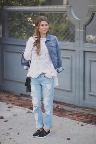 ashlee frazier blogger shirt pants jacket shoes bag jewels