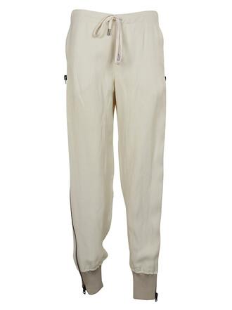pants track pants high waisted high