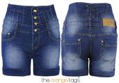 shorts,denim,casual,jeans,short jeans,vintage,retro,old school,High waisted shorts,do the hotpants,acid wash,Pin up