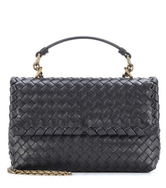 Bottega Veneta bag shoulder bag leather black