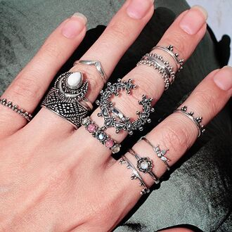 jewels shop dixi moon ring bohemian boho