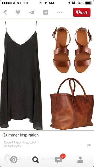 shoes sandals brown brown shoes bag dress leather sandals