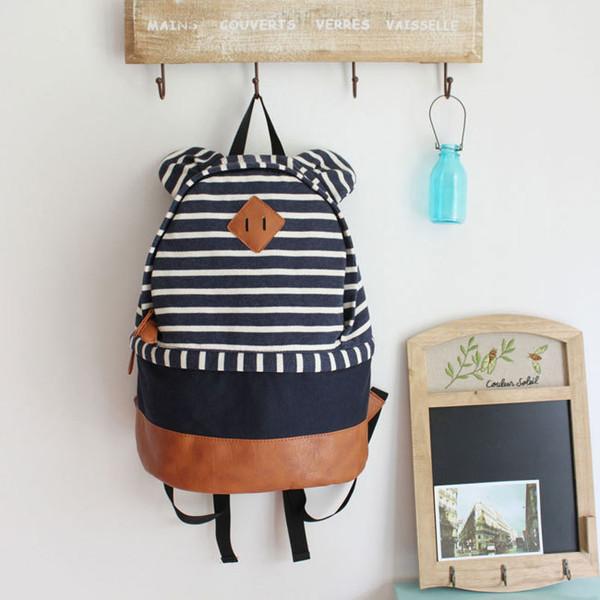 bag backpack stripes