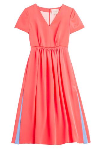 dress silk dress silk red