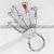 Hot Punk Finger Knuckle Ring Skeleton Hand Bone Talon Claw Skull Bracelet Cuff | eBay