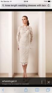 dress,lace dress,lace arms