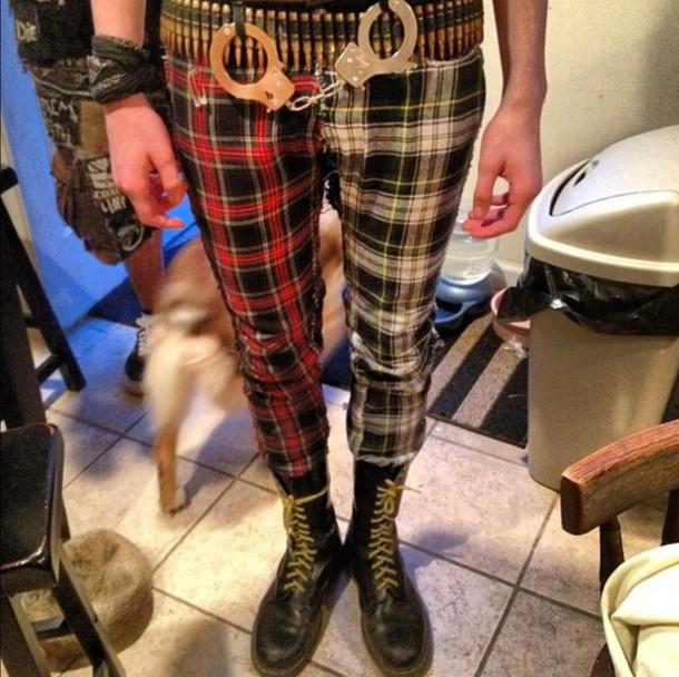 pants punk punk rock hipster punk punk clothes pop