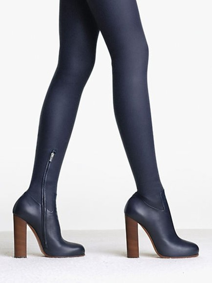 celine shoes boots thigh high boots