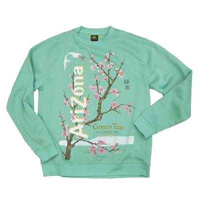Vintage Green Tea Sweatshirt - Vintage Apparel - AriZona Beverage Co. ($27.00) - Svpply