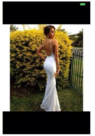 fashion formal dress style white dress backless prom dress backless dress backless white dress formal