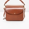 & other stories   small boxy bag   brown