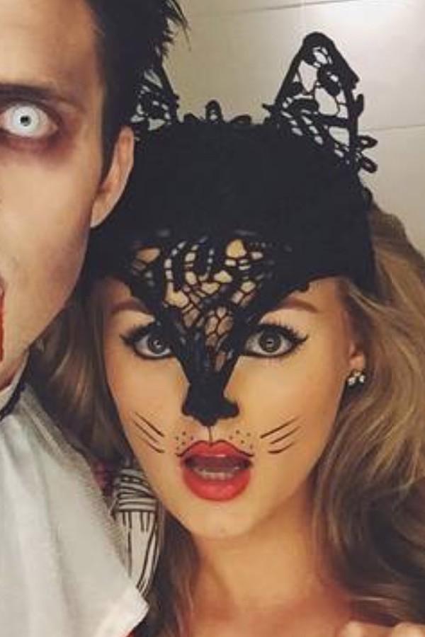 hair accessory - crochet halloween halloween makeup
