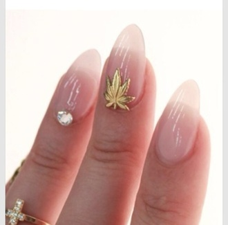 nail accessories nails weed leef
