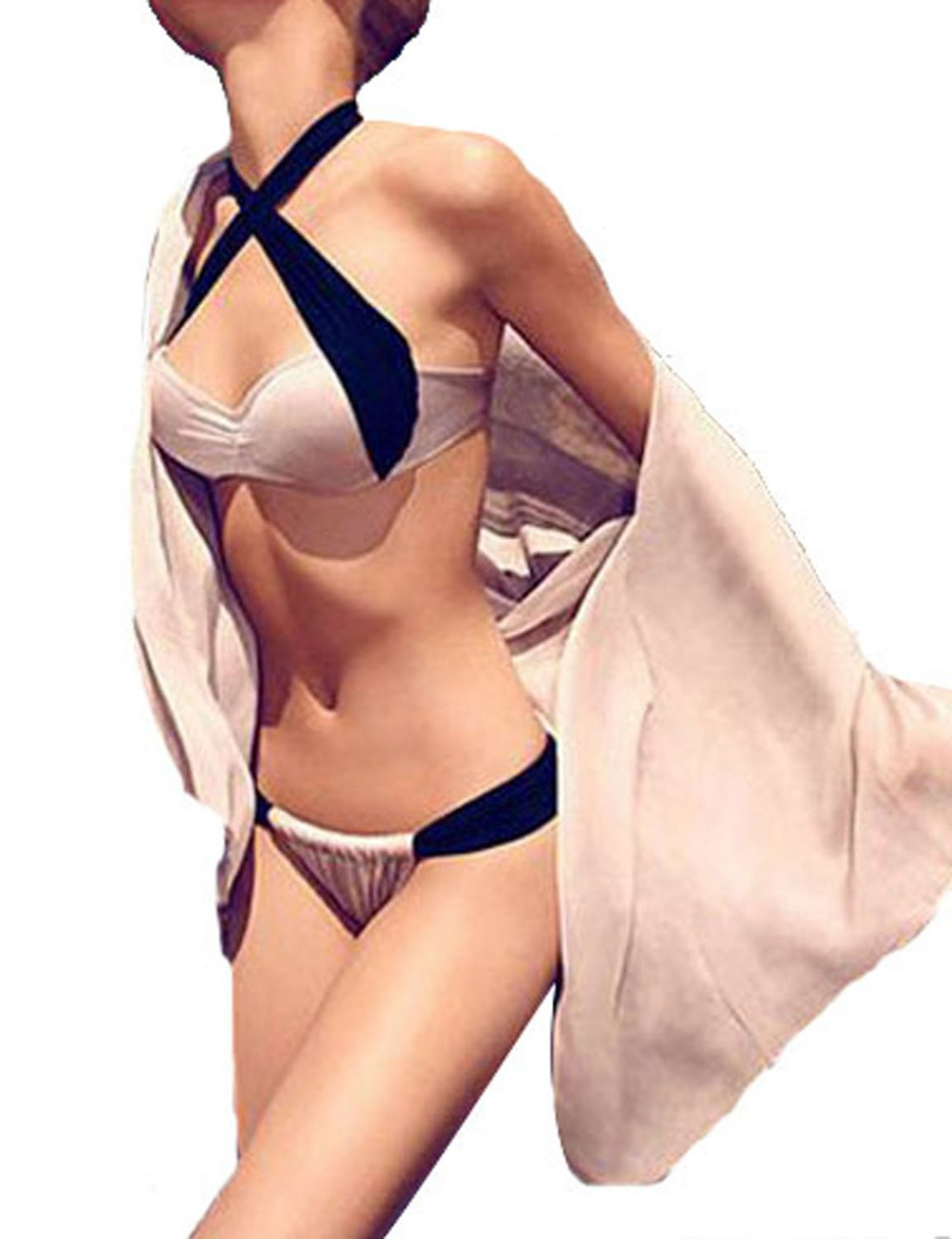 2014 new sexy summer Bandage Bikini Set Swimsuits Top and Bottoms Beach Swimwear women SML-in Bikinis Set from Apparel & Accessories on Aliexpress.com