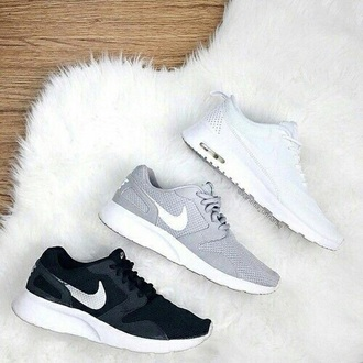 shoes nike shoes black shoes white shoes grey shoes nike sneakers nike