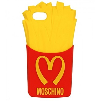 phone cover fries iphone iphone5c moschino