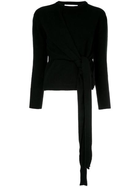Le Ciel Bleu jumper women black wool sweater