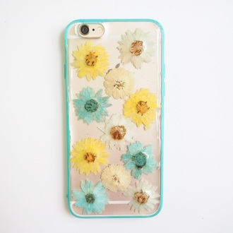 phone cover iphone iphone 6s iphone 6s plus iphone case flowers floral gift ideas holidays birthday handmade handcraft cute cool girl daisy giftforher samsung fashion life love birthday gift christmas holiday gift blue white yellow happy summer real flower pressed flowers shabibisheep iphone cover summersummerhandcraft iphone 5 case iphone 6 case iphone 4 case floral phone case valentines day gift idea mothers day gift idea best gifts samsung galaxy cases samsung galaxy s4