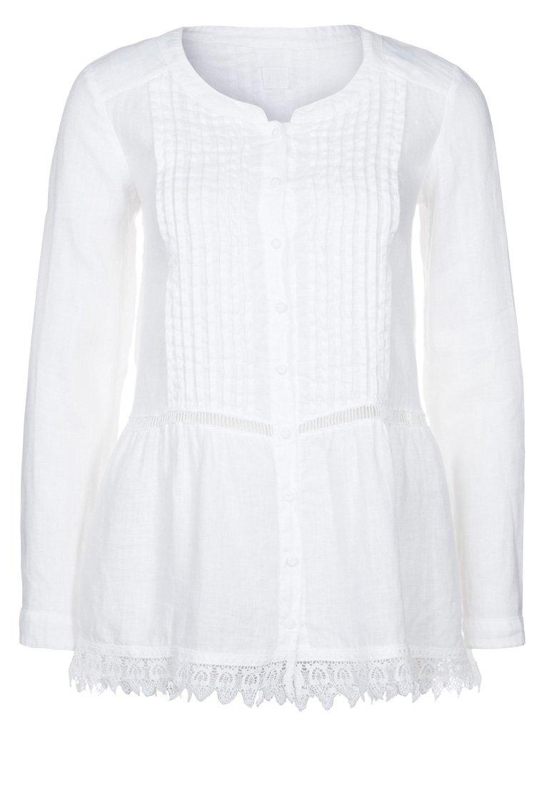 120% Lino Bluse - white - Zalando.de
