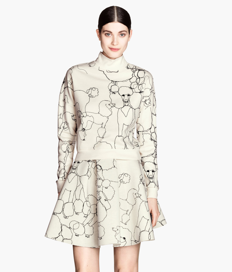 H&M Short Scuba Top $49.95