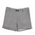 White Black Houndstooth Pockets Buttons Shorts - Sheinside.com