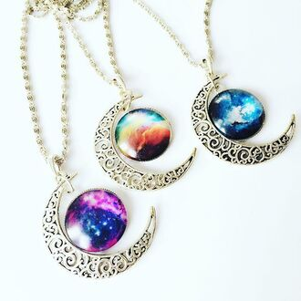 jewels cherry diva necklace statement necklace festival festival jewelry gypsy jewelry tribal jewelry boho bohemian boho jewelry big colourfull bohemian jewels crescent moon crescent moon necklace moon necklace
