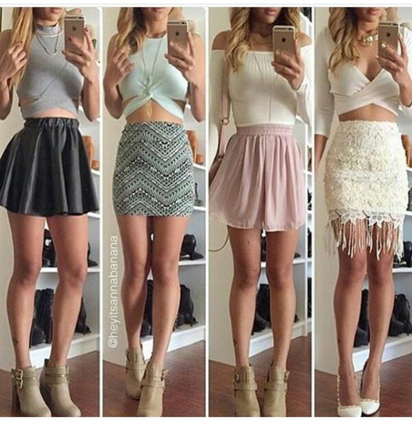 fe594f89d skirt, outfit, outfit idea, summer outfits, cute outfits, spring ...