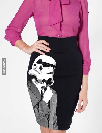 darth vader pencil skirt long skirt body con skirt star wars