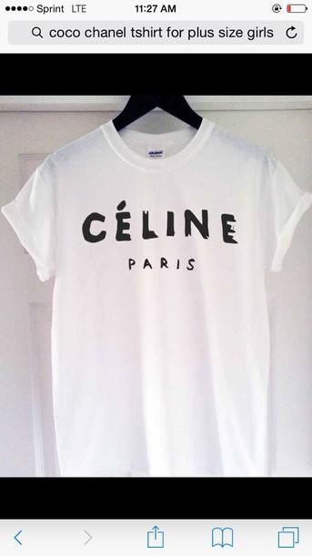 t-shirt chanel tshirt