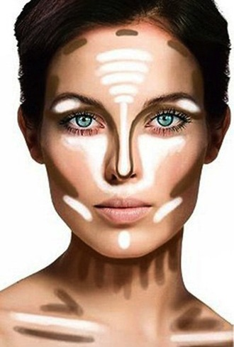 make-up contouring beauty hacks