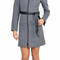 Soia & kyo asia-f4 grey winter wool coat with hood | emprada
