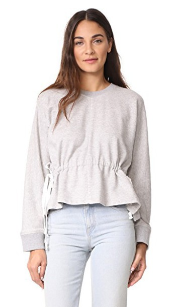 A.L.C. pullover grey heather grey sweater