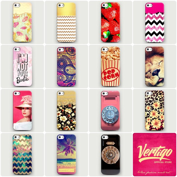 jewels fashion iphone case girly vintage vertigo