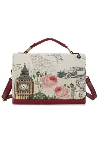 romantic roses bag shoulder bag london