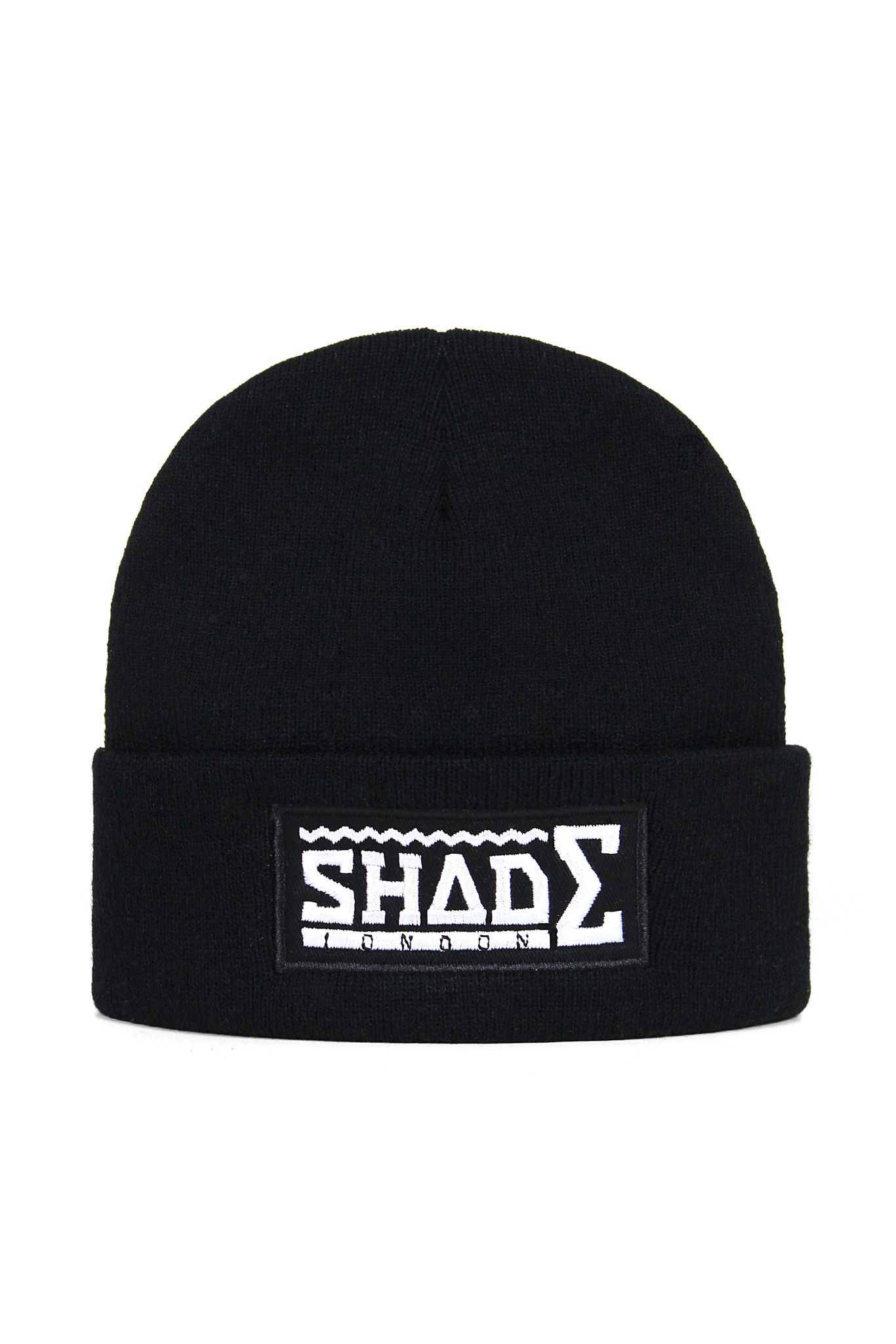 Shade black beanie hat – shade london