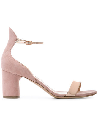 open women sandals leather nude shoes
